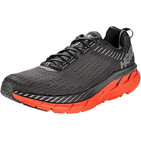 Hoka One One Clifton 5 Running Shoes Men grey/orange